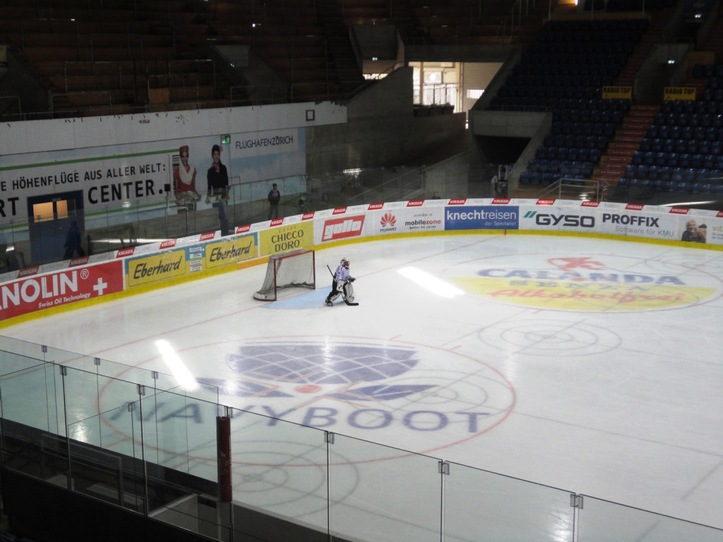 Gian Laager - Goalie ein einsamer Job
