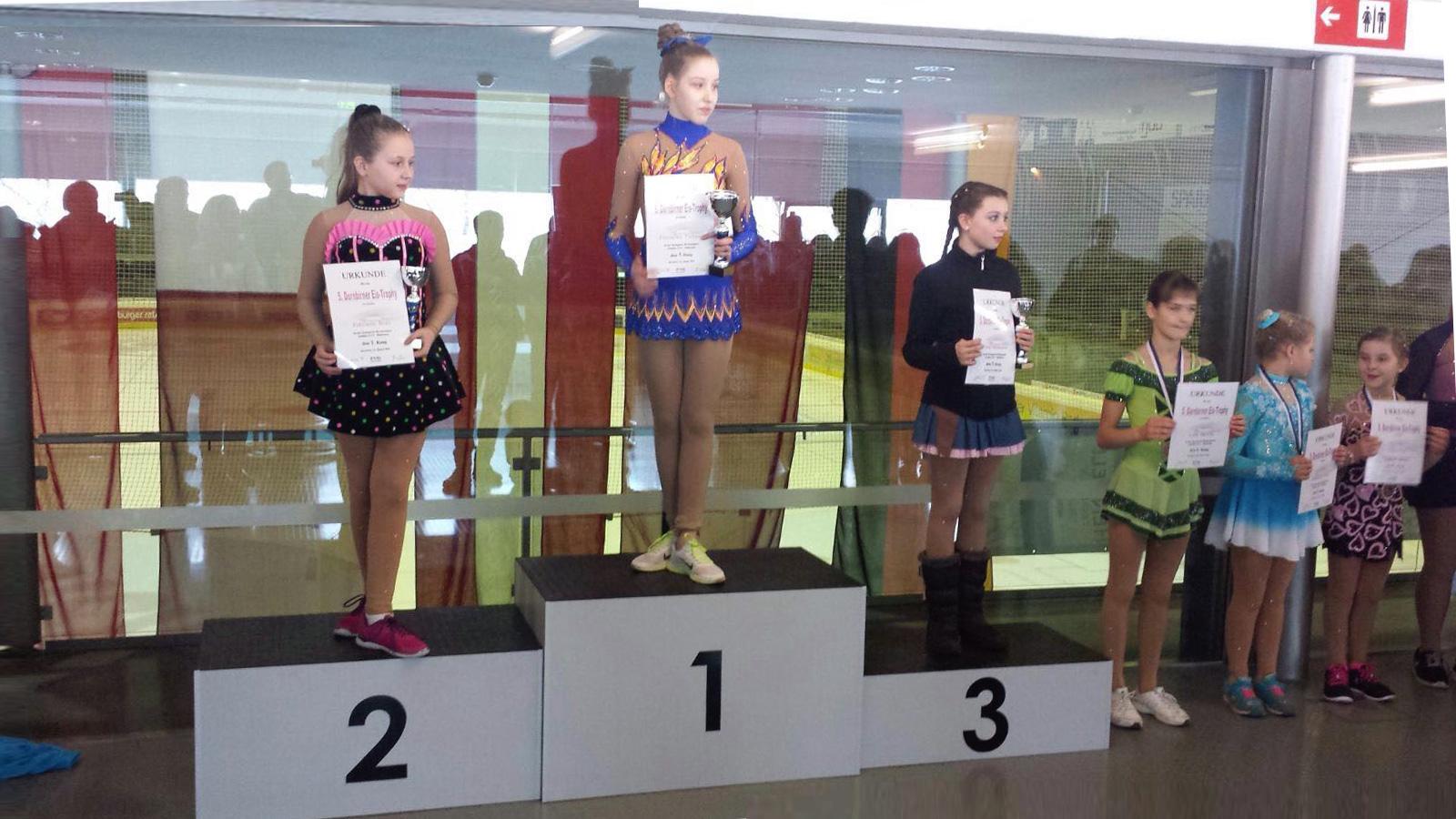 Nella belegte in Dornbirn den 3.Rang.