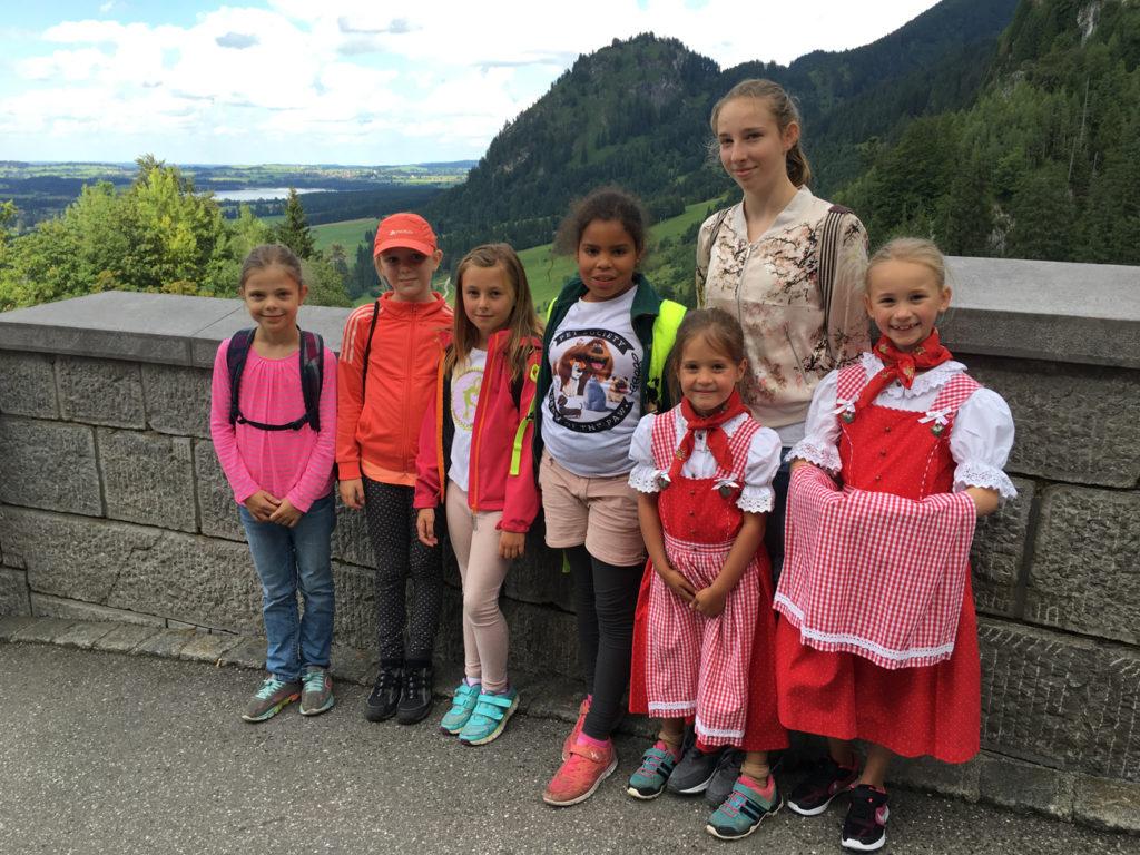 Die Mädchen erlebten dank dem grossen grossen Engagement von Nicole und Andrea Graf eine abwechslungsreiche Woche.