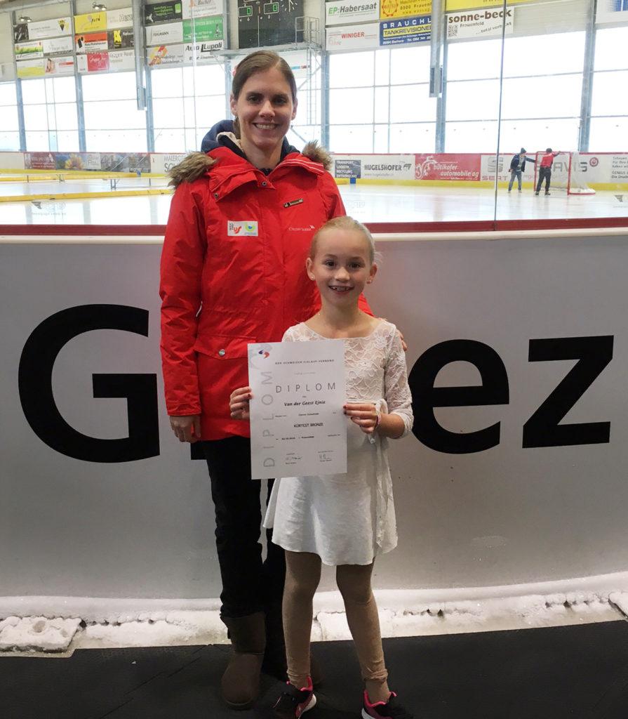 Ejnie van der Geest hat den Bronzetest am 2. Oktober in Frauenfeld bestanden.