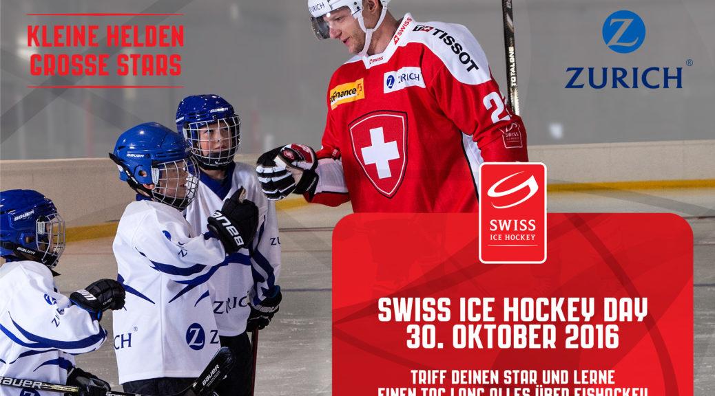 """Swiss Ice Hockey Day: """"Kleine Helden – Grosse Stars"""""""