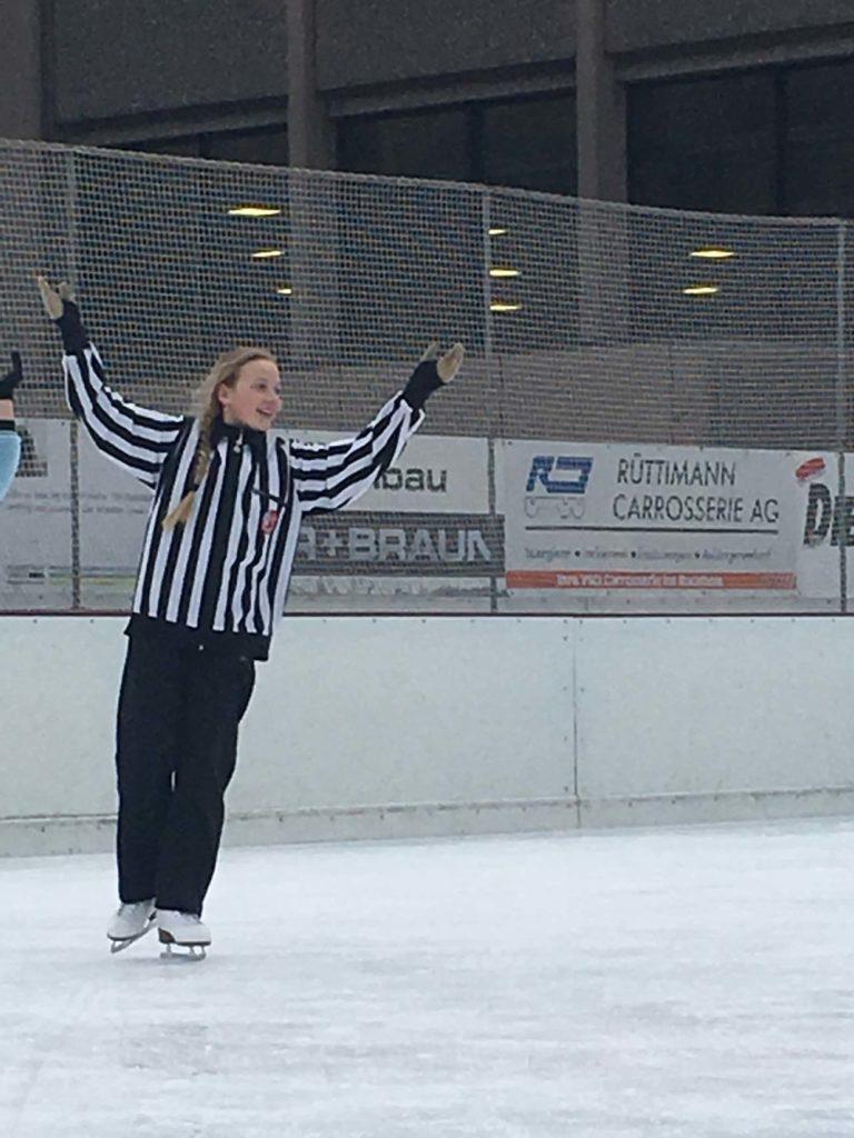..und Eishockeyschiedsrichter die Sportart wechselten.