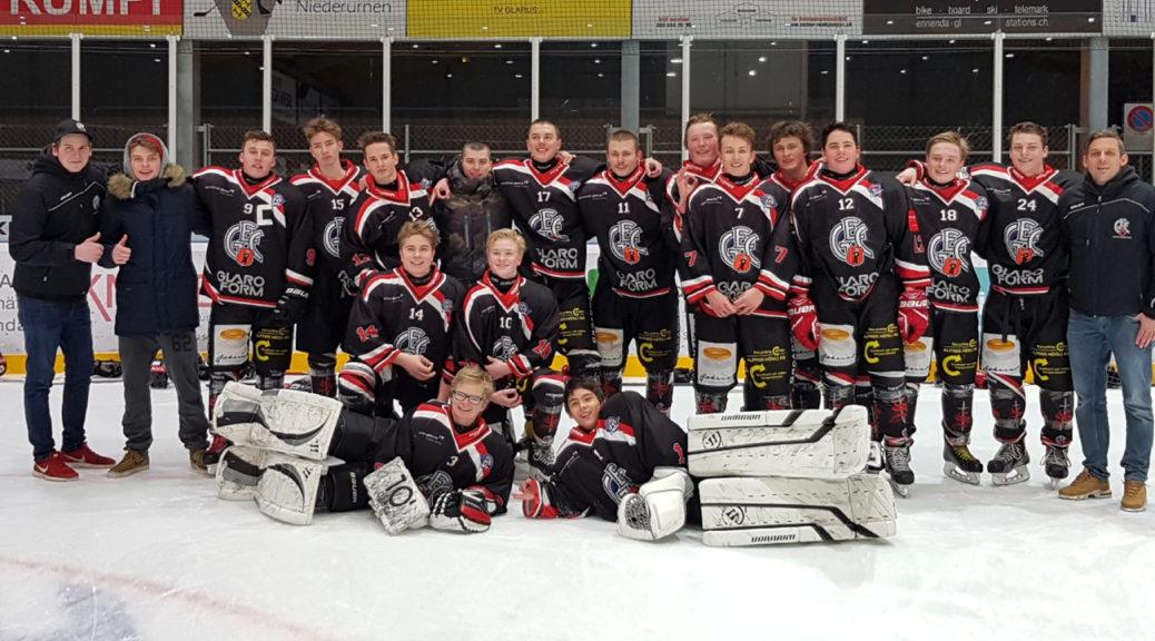 GEC-Junioren-Team Saison 2017/18. Foto: Jrene Luchsinger