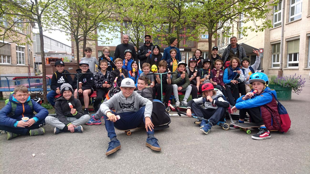 Saisonabschluss 2018/2019 im Skills Park in Winterthur.