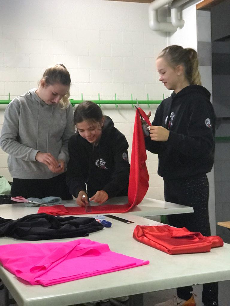 Zwischen den Trainings laufen die Vorbereitungen für «GEC on Ice».