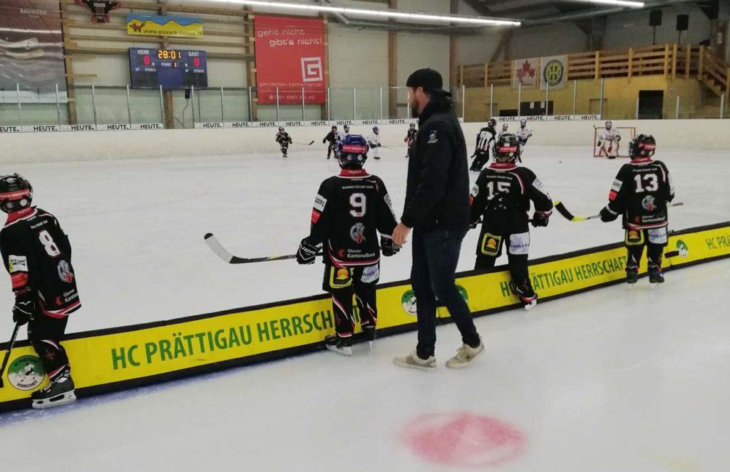 Betreut wurden die U9-I für einmal vom Trainerduo Jürg und Marion Weber.