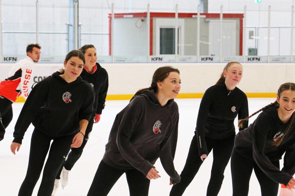 Runden drehen für den GEC-Nachwuchs: Voller Einsatz beim Skateathon. Foto: Tanja Schrepfer Knecht