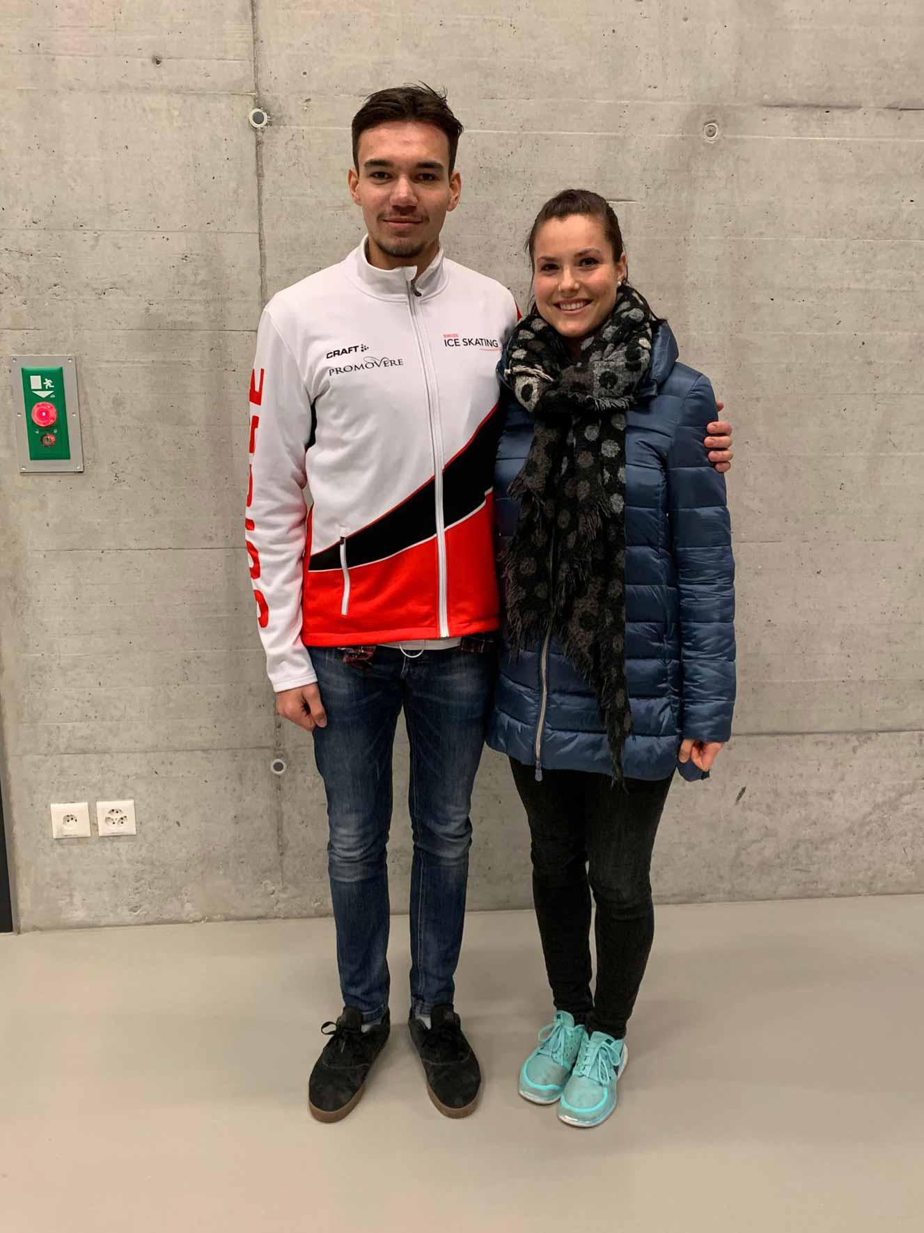 Zwei Glarner bei den Schweizermeisterschaften: Maxim Kobelt & Zora Largo.