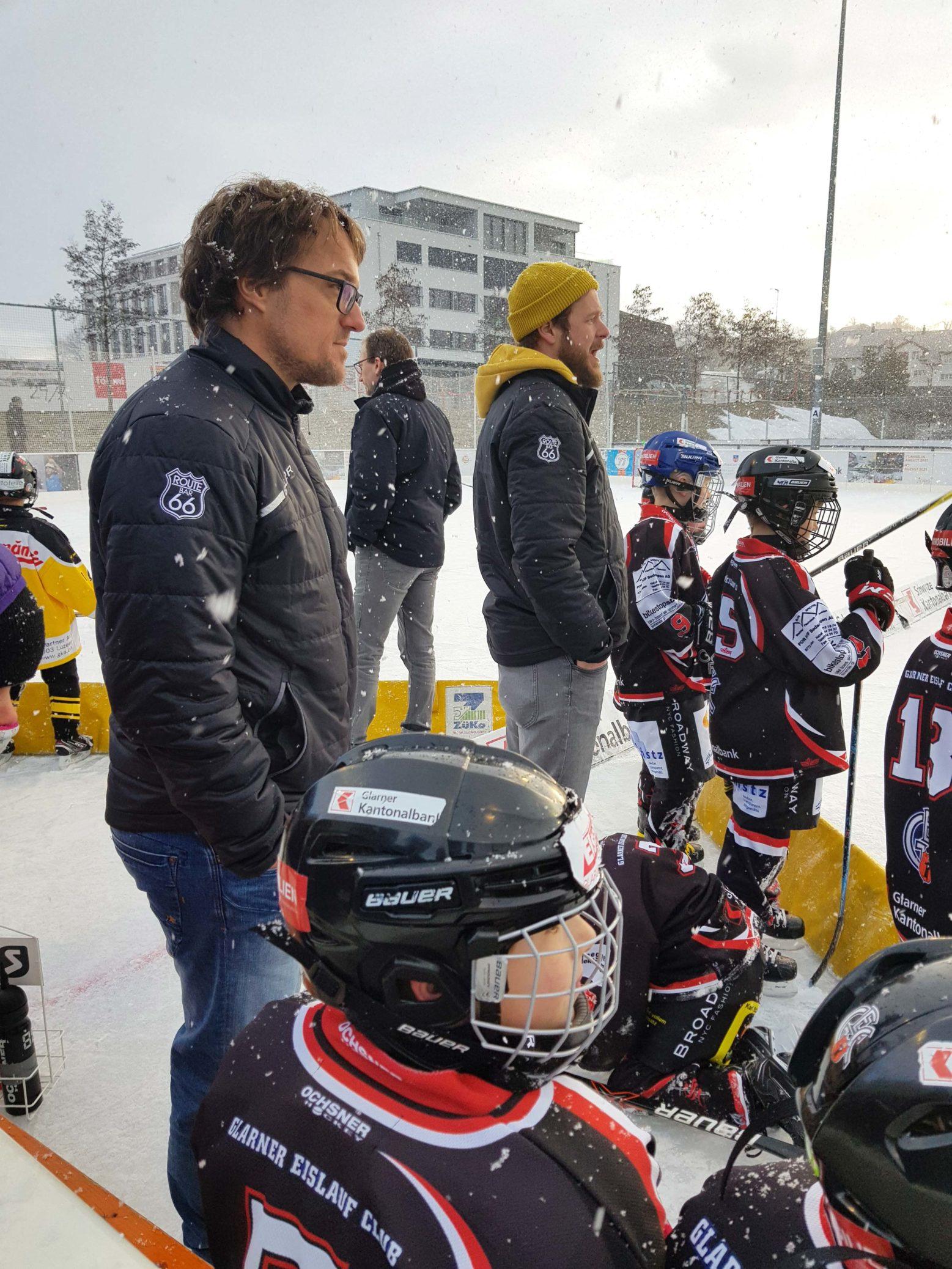 Fanden die richtigen Worte für ihre Spieler: Die GEC.Coaches Bernardo Rhyner (links) und Jürg Weber (rechts).