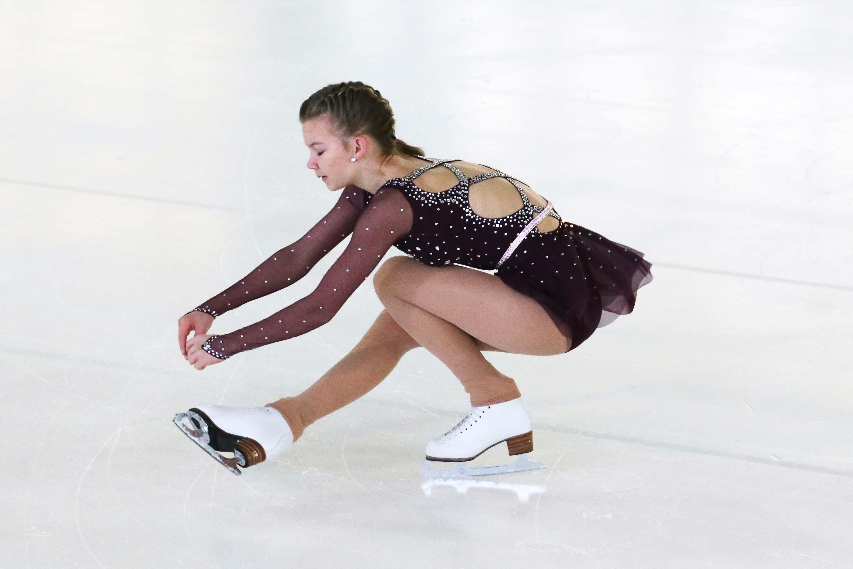 Mara Piccinelli, Rang 8 Kategorie Bronze Jüngere, 21.26 Punkte. Foto: Tanja Schrepfer Knecht