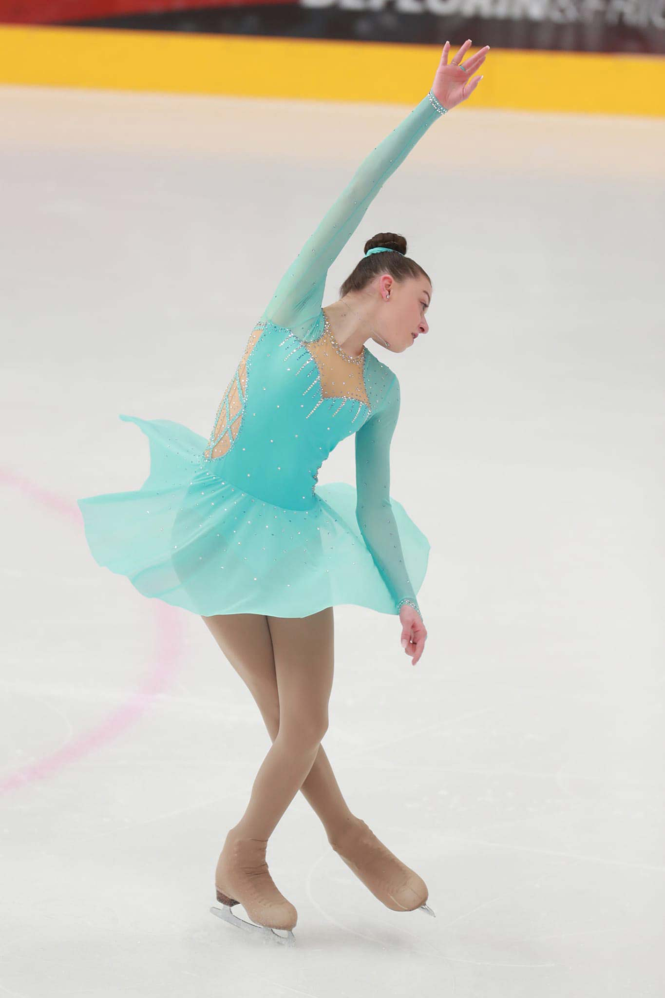 Nella Malacarne holte in der Kategorie Bronze Ältere mit 28,6 Punkten den Sieg.