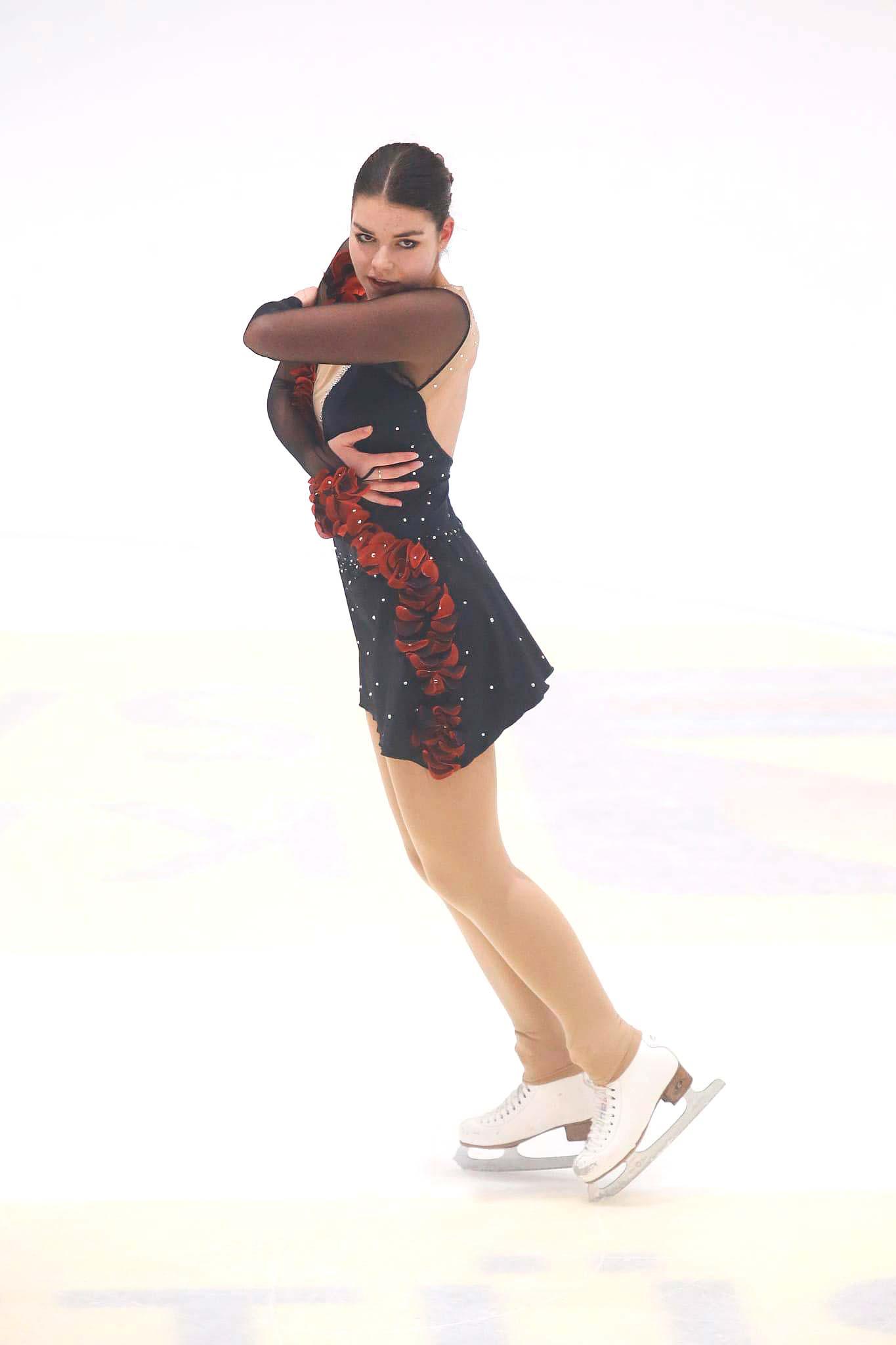 Sarina Hagmann, Rang 2, Kategorie Mixed Age Damen, 59.37 Punkte. Foto: Tanja Schrepfer Knecht